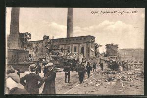 AK Oppau, Explosion am 21. September 1921