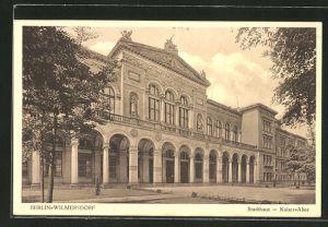AK Berlin-Wilmersdorf, Kaiser-Allee mit Stadthaus