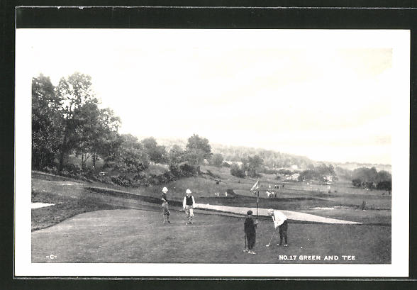 AK Dallas, Pa, Irem's Playground, Green and Tee, Golfplatz