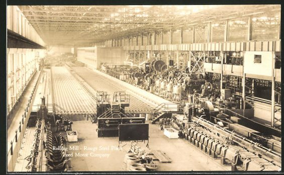AK Rouge Steel Plant, Rolling Mill, Ford Motor Company, Automobilfabrik