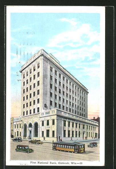 AK Oshkosh, First National Bank
