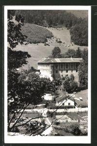 AK Freiland, Teilansicht mit Schloss