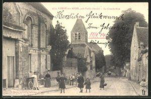 AK Conde-sur-Aisne, La Grande Rue