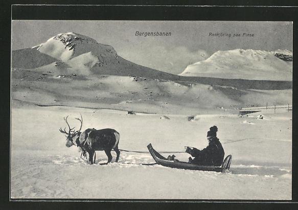 AK Finse, Renkjöring, Bergensbanen