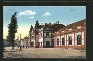 AK Szolnok, Pályaudvar, Bahnhof