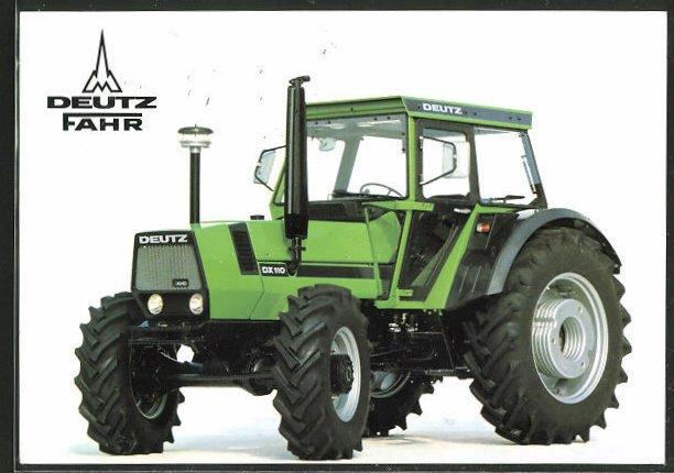 AK Traktor Deutz Fahr DX 110