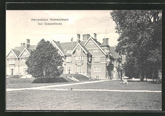 AK Eckernförde, Partie am Herrenhaus Hemmelmark
