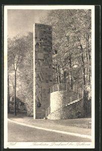 AK Kiel, Seesoldaten-Denkmal