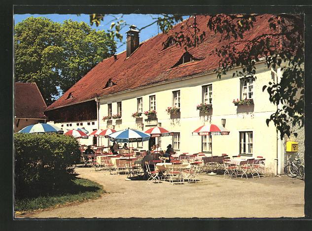 AK Grünwald, Gasthof Forsthaus Wörnbrunn