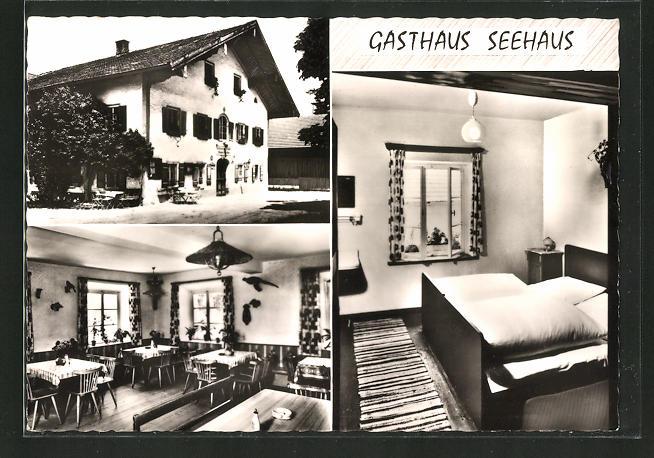 AK Petting / Obb., Gasthaus Seehaus
