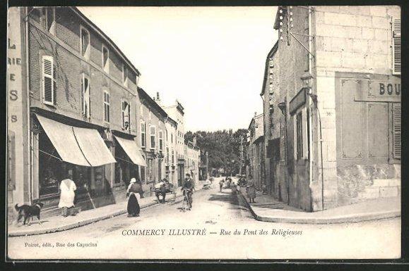 AK Commercy, Rue du Pont des Religieuses