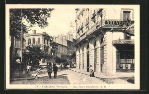 AK Bergerac, Rue Neuve d'Argenson, Strassenpartie
