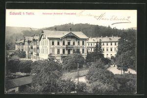 AK Eichwald, Kaltwasser-Heilanstalt Theresienbad