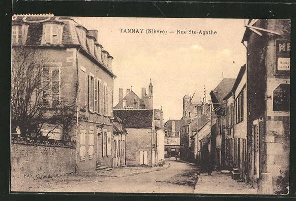 AK Tannay, Rue Ste-Agathe