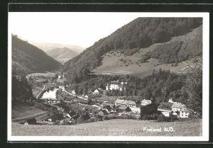 AK Freiland, Ortsansicht