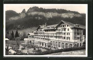 AK Beatenberg, Partie am Hotel Regina