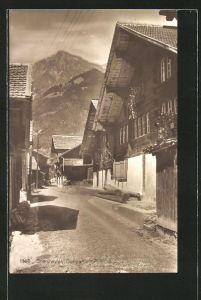 AK Brienzwyler, Strassenpartie im Dorf