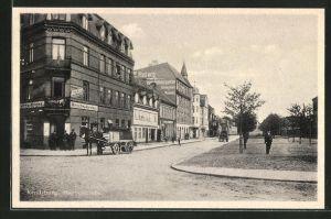 AK Rendsburg, Gasthaus Reichskrone in der Herrenstrasse
