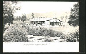 AK Fleurier, Tir Cantonal Neuchatelois 1902, Grande Cantine et Pavillon des Prix