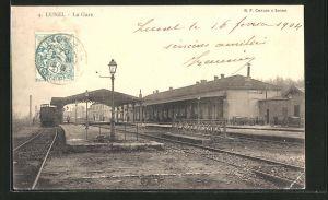 AK Lunel, Auf dem Bahnhof