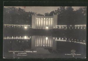 AK Göteborg, Idrottshallen, Jubileumsutställningen 1923, Ausstellung