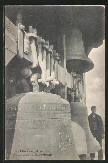 AK Middelborg, het klokkenspel van den Abdijtoren, Glocken