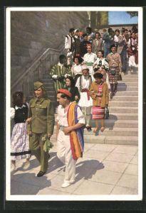 AK Die Jugend der Welt will den Frieden, DDR-Propaganda