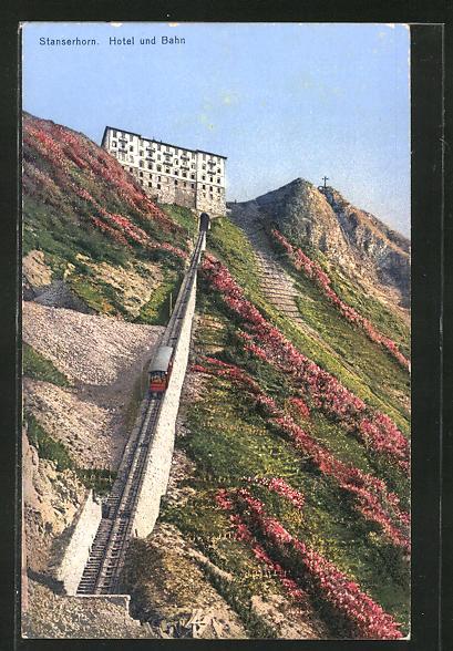 AK Stanserhorn, Hotel und Bergbahn