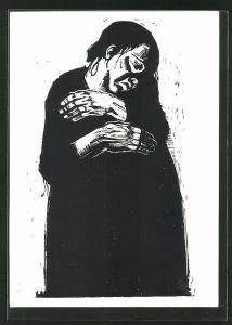 Künstler-AK Käthe Kollwitz: