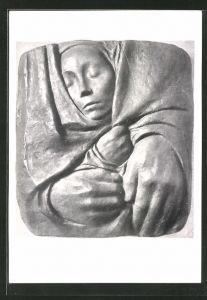 Künstler-AK Käthe Kollwitz: Grabrelief von 1935