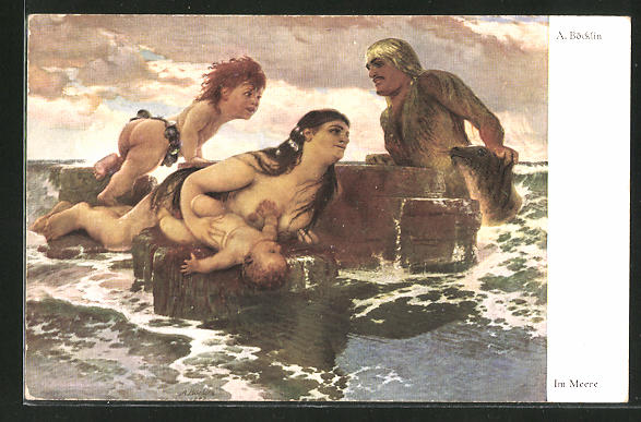 Künstler-AK Arnold Böcklin: