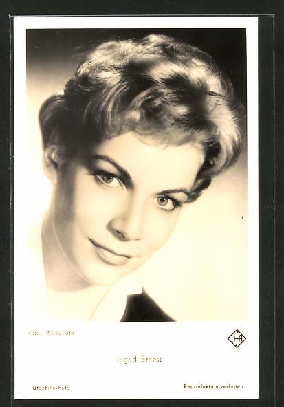 AK Schauspielerin Ingrid Ernest spielte im Film