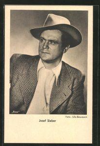 AK Schauspieler Josef Sieber spielte im Film