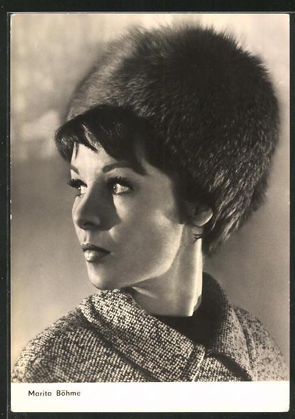 AK Schauspielerin Marita Böhme spielte im Film