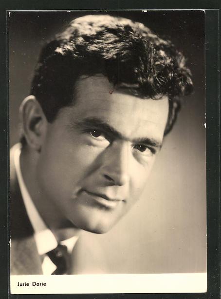 AK Schauspieler Jurie Darie spielte u.a. im Film