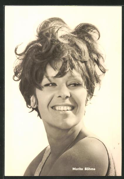 AK Schauspielerin Marita Böhme spielte u.a. im Film