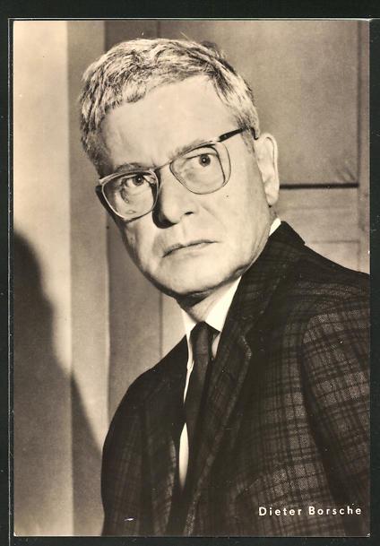 AK Schauspieler Dieter Borsche spielte u.a. im Film