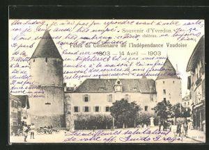 AK Yverdon, Fetes du Centenaire de l'Indépendance Vaudoise