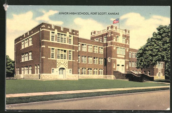 AK Fort Scott, KS, Junior High School