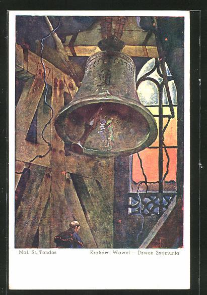 AK Krakau-Krakow, Dzwon Zygmunta