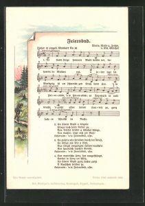 Lied-AK Anton Günther Nr. 36: Lied in erzgeb. Mundart