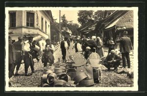 AK Sarajevo, Marktszene, Händler