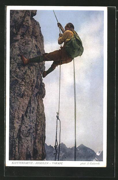 AK Bergsteiger seilt sich ab