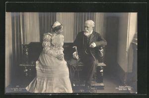 AK Grossherzogin Luise und Grossherzog Friedrich von Baden