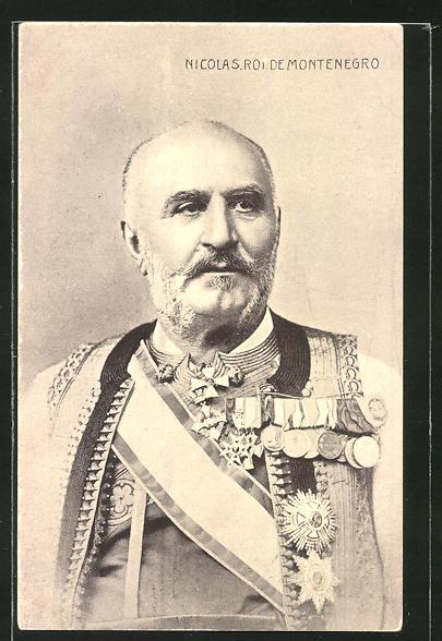 AK Nicolas, Roi de Montenegro