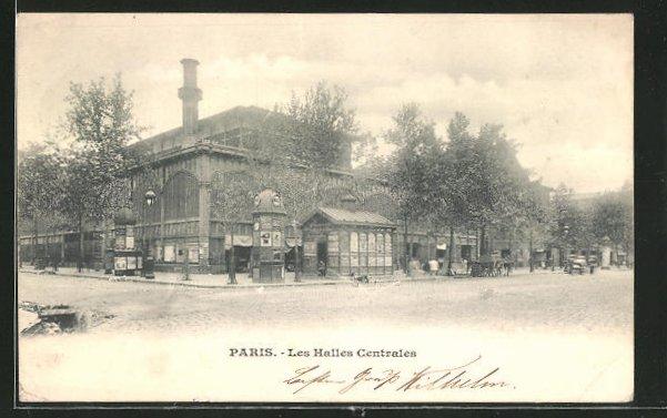 AK Paris, Les Halles Centrales