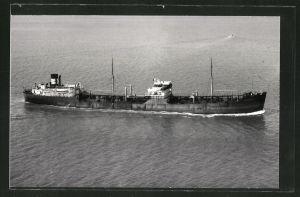 Fotografie Tankschiff Esso Plymouth in Fahrt