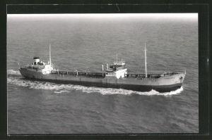 Fotografie Esso Tankschiff Tankland auf See