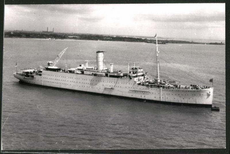 Fotografie Hilfskreuzer - Truppentransporter der Royal Navy