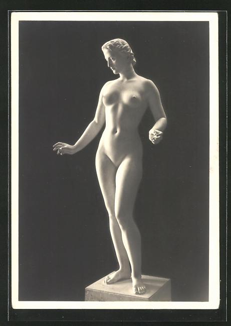 Künstler-AK Arno Breker: Statue